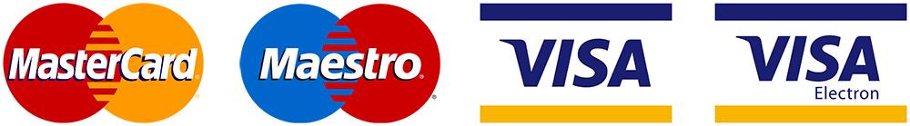 MasterCard Maestro VISA Electron